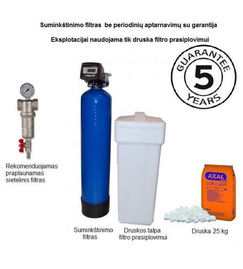 Vandens minkštinimo filtrų komplektas
